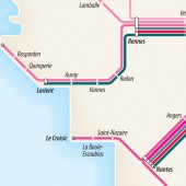 TGV diagram detail: 	Atlantic Coast