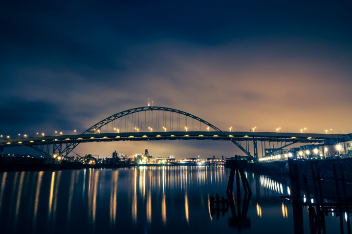 Fremont Bridge at Night