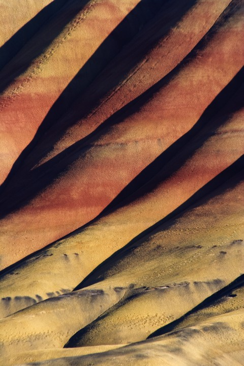 Painted Hills - Folds