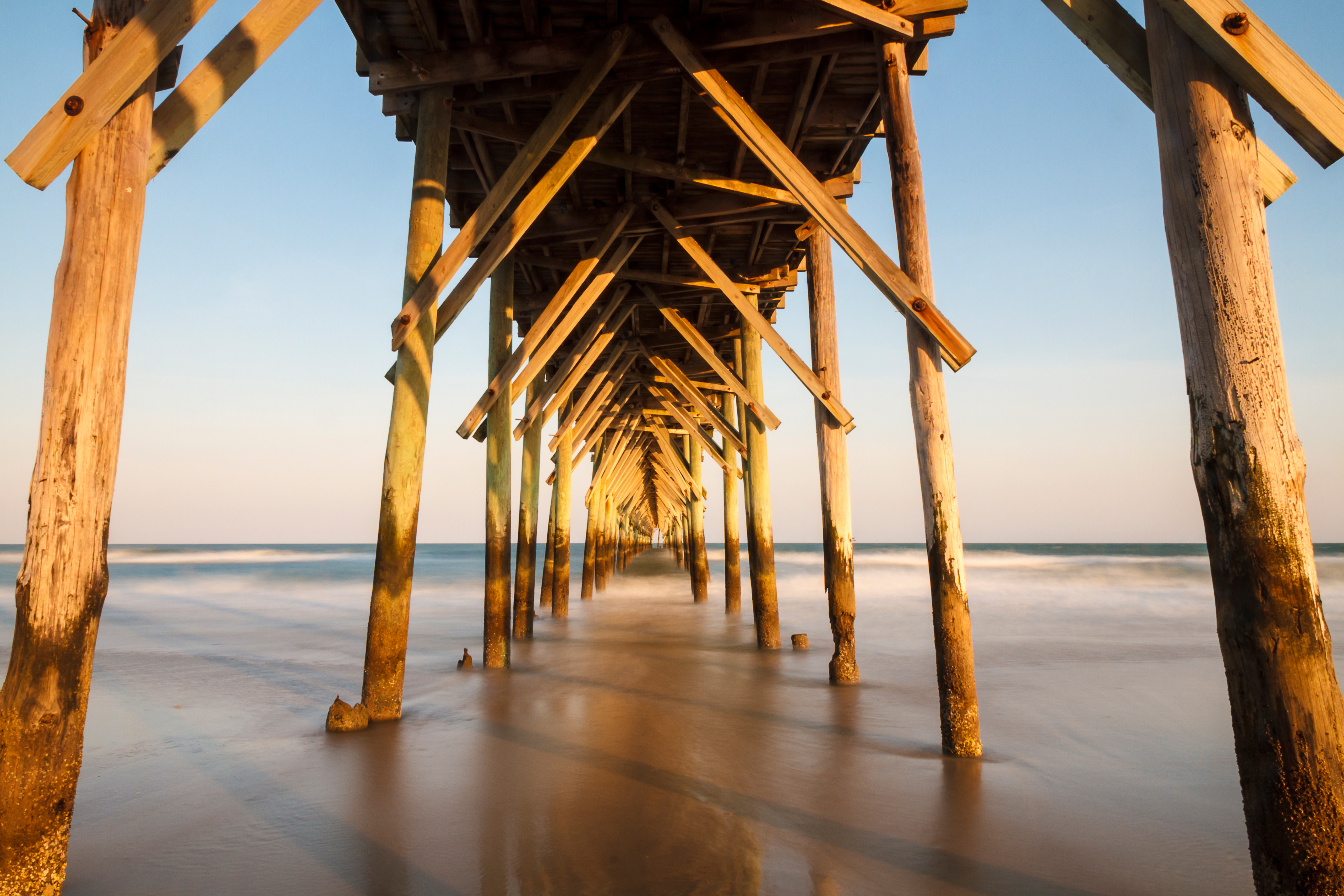 Pier, North Topsail Beach – Cameron Booth